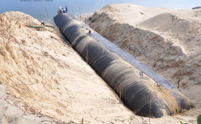 Thi công ống địa kỹ thuật